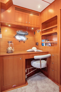 Office in VIP Stateroom