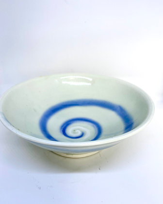 Cobalt Swirl bowls