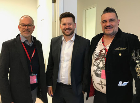 Innovation Youth Centre Director and Chair Parliament House meeting in ACT Federal Minister Adviser.