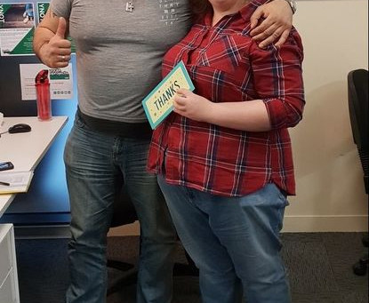 Student Youth Worker Maria Finishes Her Placement with IYC