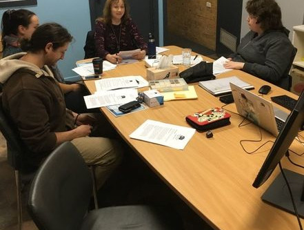 IYC Youth Worker Team Meet up to Brainstorm over grants