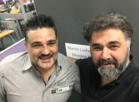 Paul Papadatos Meets ASRC CEO Kon Karapanagiotidis