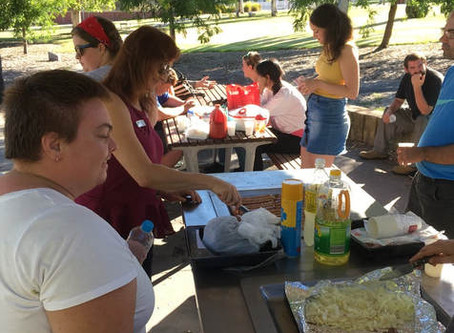 Innovation Youth Centre Reference Group BBQ Meeting