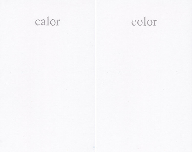 Del poder de las palabras (calor color), 2020