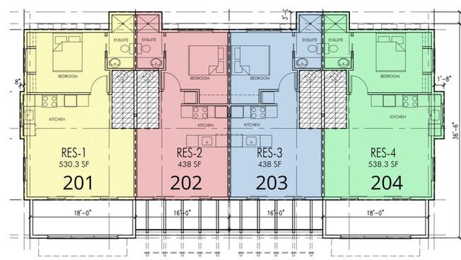 480 Royal Ave Residential Floorplan