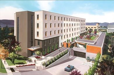 Rendering of 2080 Benvoulin Court, Kelowna, built by Worman Commercial