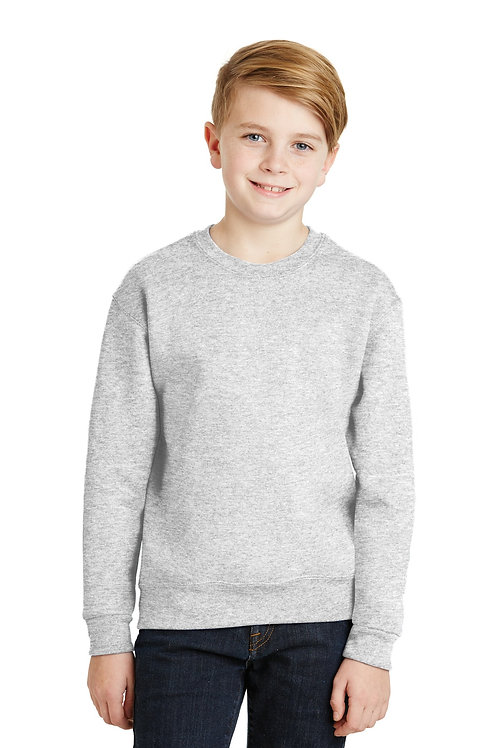JERZEES® - Youth NuBlend Crewneck Sweatshirt.  562B