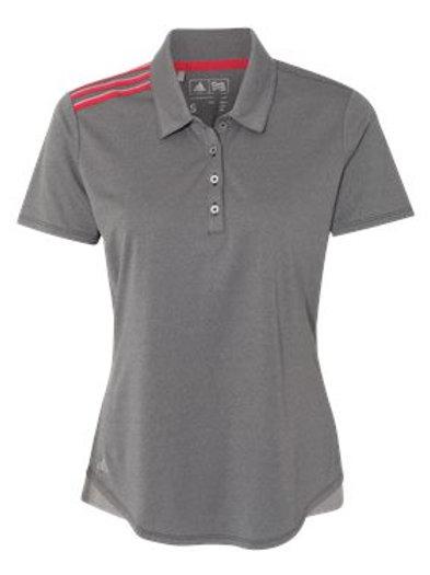Adidas - Women's Climacool 3-Stripes Shoulder Sport Shirt - A235