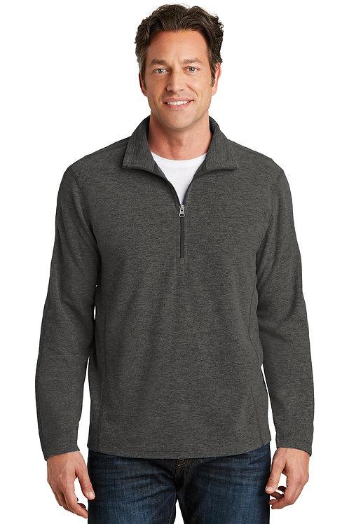 Port Authority® Heather Microfleece 1/2-Zip Pullover. F234