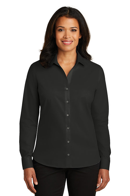 Red House® Ladies Non-Iron Twill Shirt. RH79