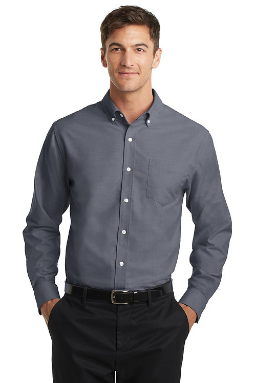 Port Authority® SuperPro™ Oxford Shirt. S658