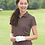 Thumbnail: Adidas® - Golf Women's ClimaLite® Textured Short Sleeve Polo - A162