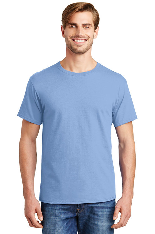 Hanes® - ComfortSoft 100%  Cotton T-Shirt.  5280