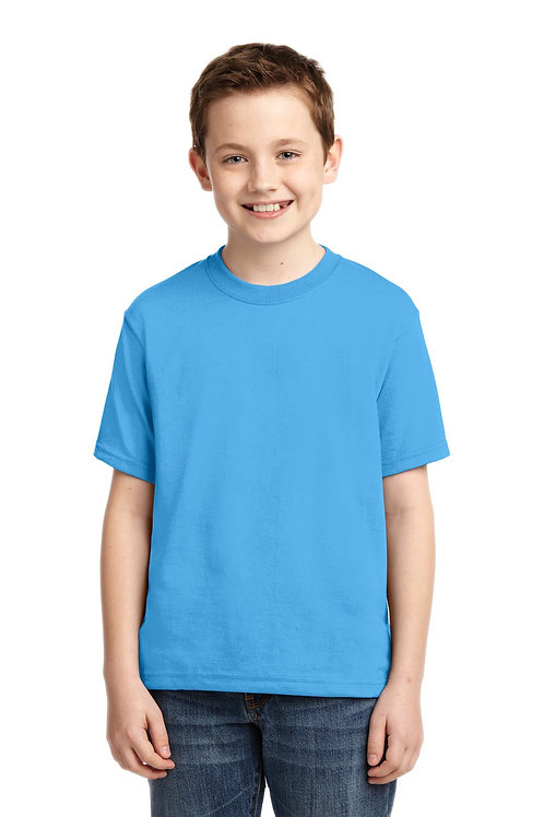 JERZEES® - Youth Dri-Power Active 50/50 Cotton/Poly T-Shirt.  29B