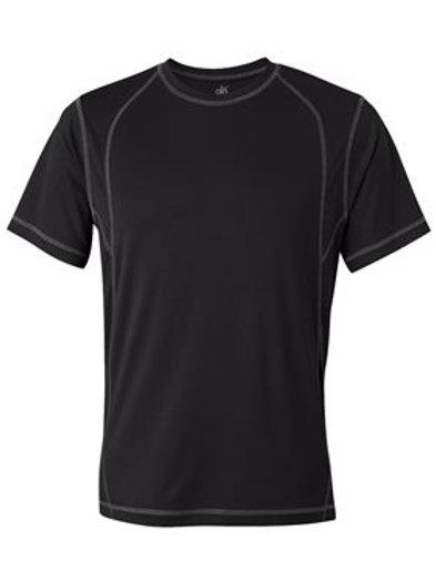 All Sport® - Short Sleeve Pieced Interlock T-Shirt - M1021