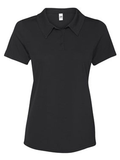 All Sport® - Women's Performance 3-Button Mesh Polo - W1709