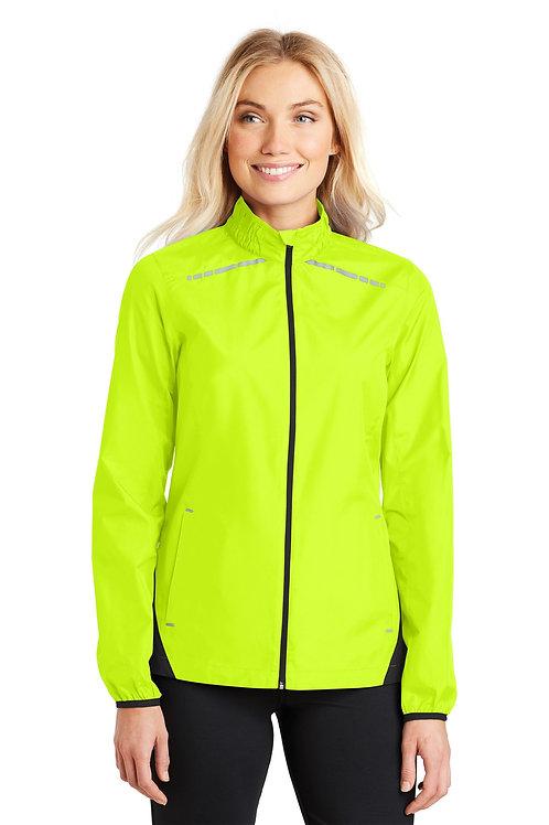 Port Authority® Ladies Zephyr Reflective Hit Full-Zip Jacket. L345