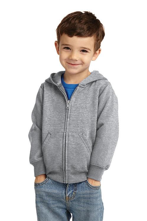 Port & Company® Toddler Core Fleece Full-Zip Hooded Sweatshirt. CAR78TZH