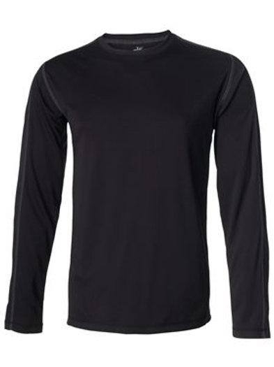 All Sport® - Long Sleeve Pieced Interlock T-Shirt - M3021