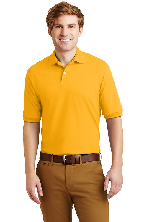 JERZEES® - SpotShield 5.6-Ounce Jersey Knit Sport Shirt. 437M