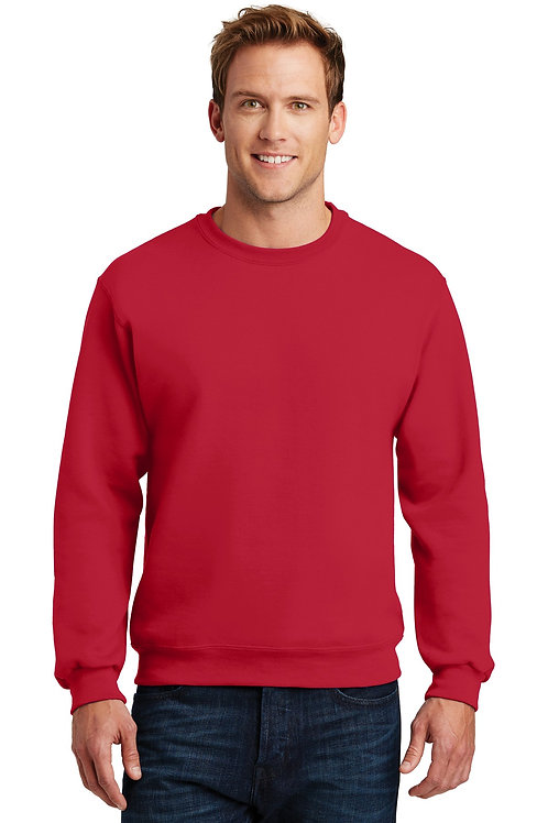 JERZEES® SUPER SWEATS NuBlend - Crewneck Sweatshirt.  4662M