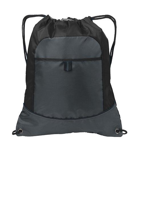 Port Authority® Pocket Cinch Pack. BG611