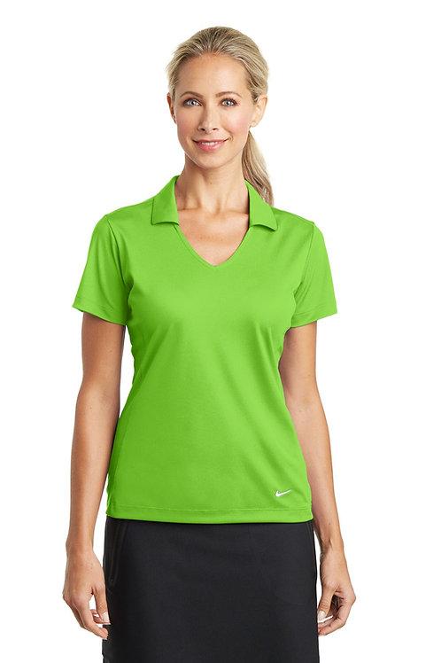 Nike® Ladies Dri-FIT Vertical Mesh Polo. 637165
