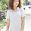 Thumbnail: Adidas® - Women's Heather Block Sport Shirt - A146