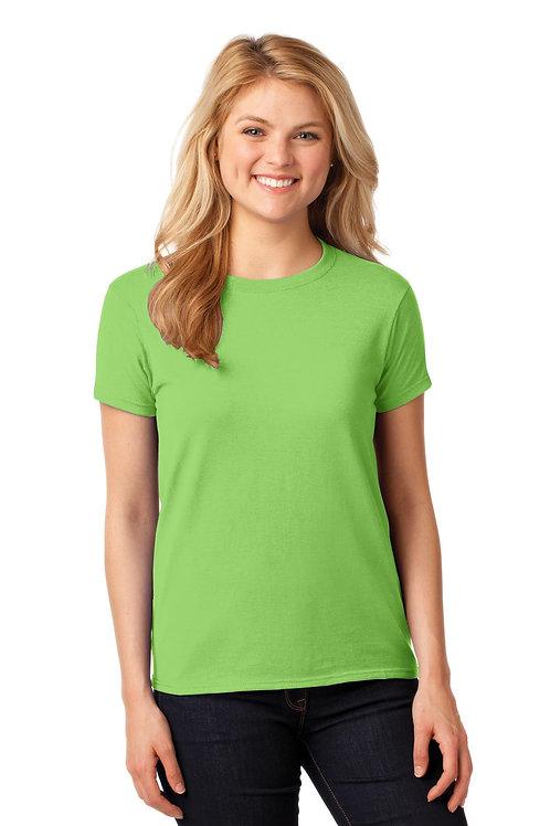 Gildan® Ladies Heavy Cotton™ 100% Cotton T-Shirt. 5000L