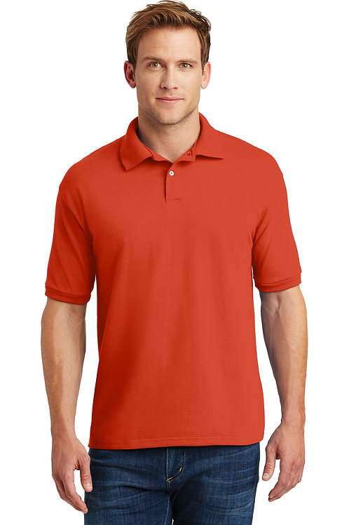 Hanes EcoSmart® - 5.2-Ounce Jersey Knit Sport Shirt. 054X