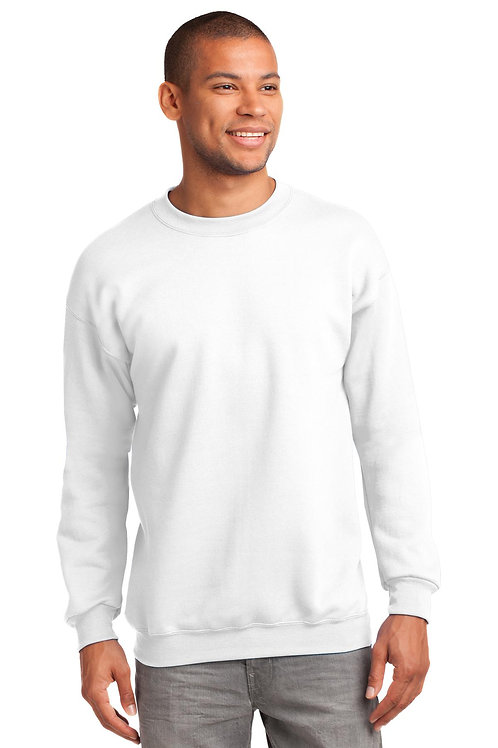 Port & Company® Essential Fleece Crewneck Sweatshirt.  PC90