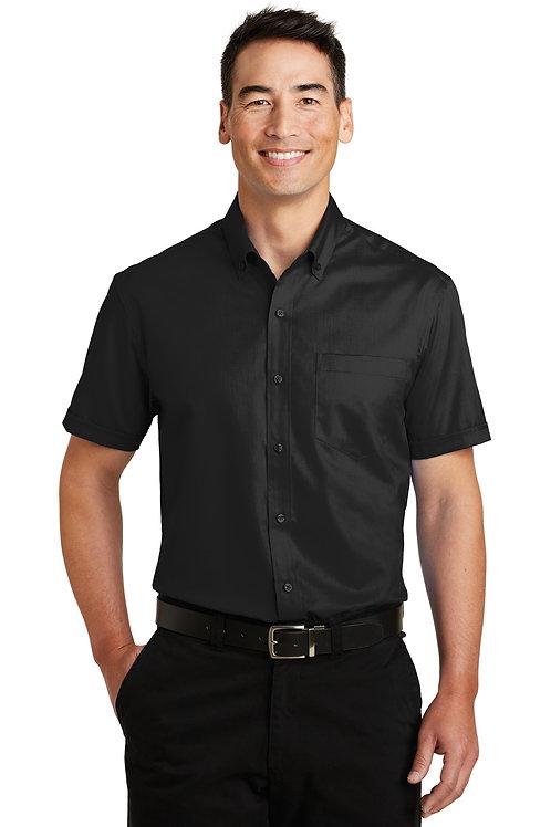 Port Authority® Short Sleeve SuperPro™ Twill Shirt. S664