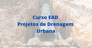 Curso EAD Projetos de Drenagem Urbana (1