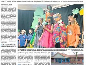 20 Jahre Grundschule Plockhorst