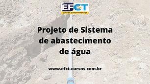 curso ead projetos de sistema de abastec