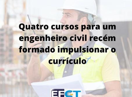 Curso para engenheiro civil recém-formado: qual e onde fazer?