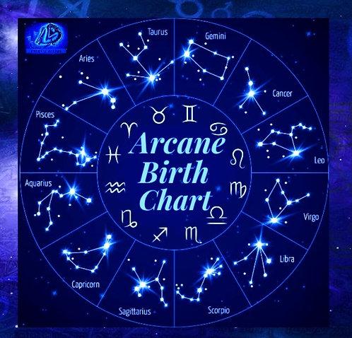 Arcane Birth Chart (Esoteric) Appraisal