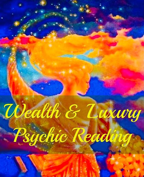 Wealth & Luxury Psychic Reading