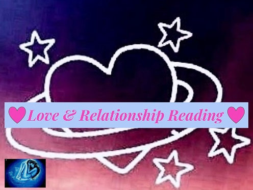 Love & Relationship Psychic Reading