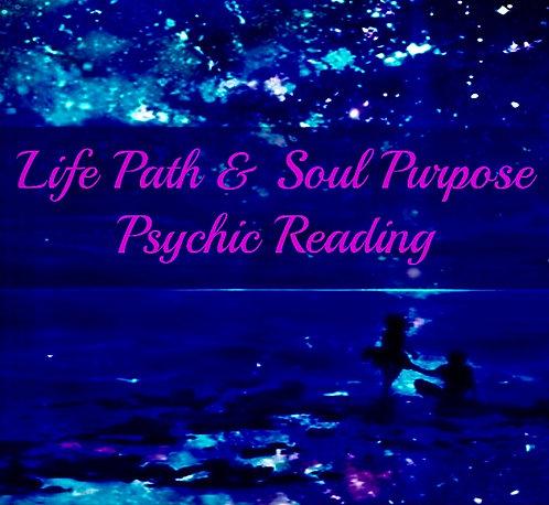 Life Path & Soul Purpose Psychic Reading