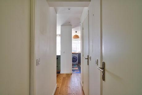 corridor to kitchen