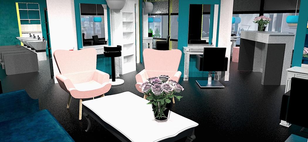 hair and beauty salon