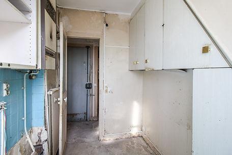 isolated kitchen