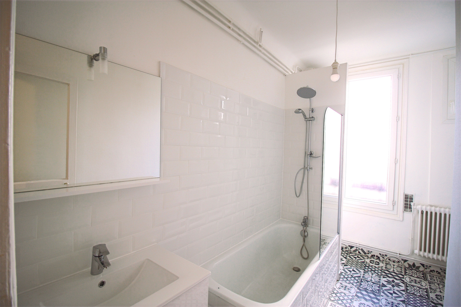 bathroom renovation for rental investment