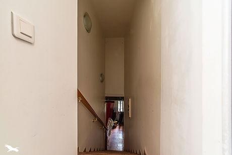 unused staircase