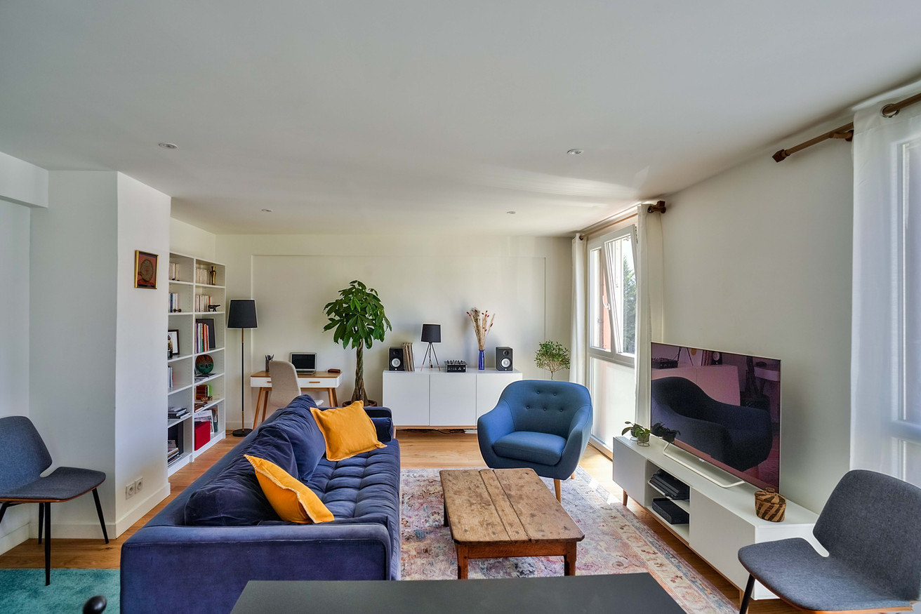 light bright living area