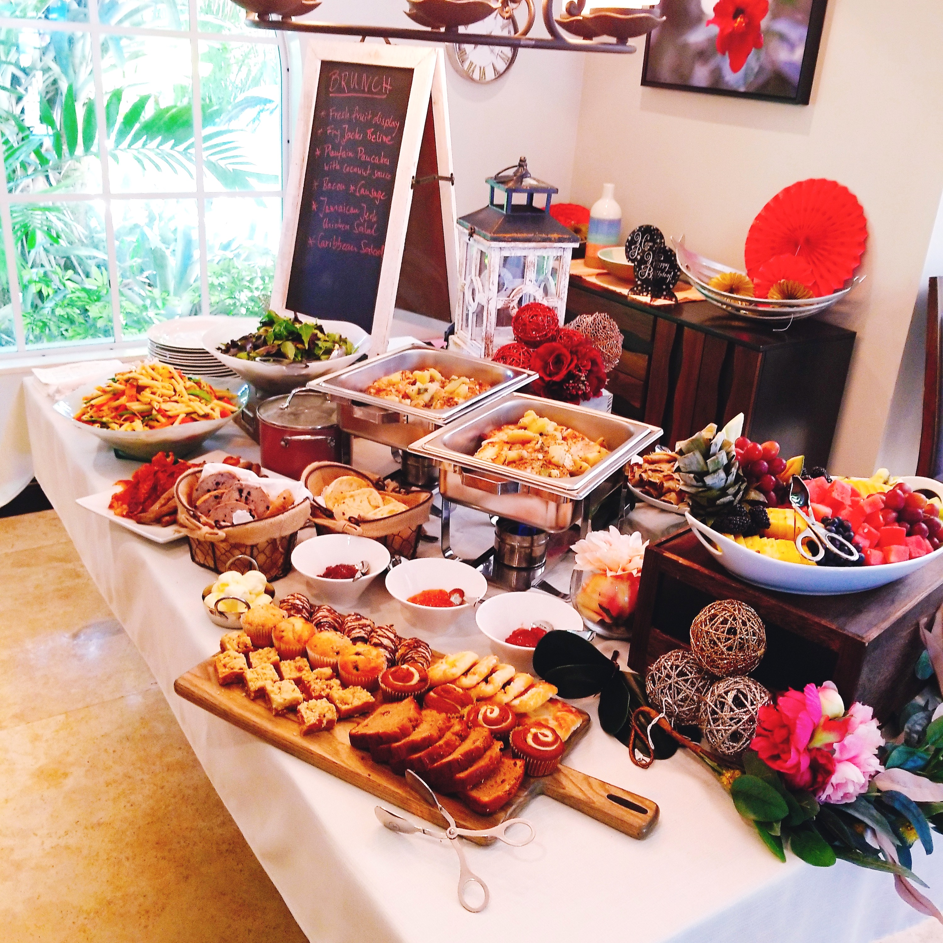 Brunch Buffet setup_edited