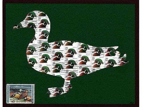 Duck 8x10 (FRAMED)