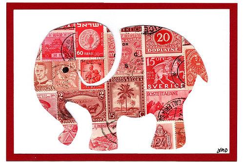 Elephant 5x7