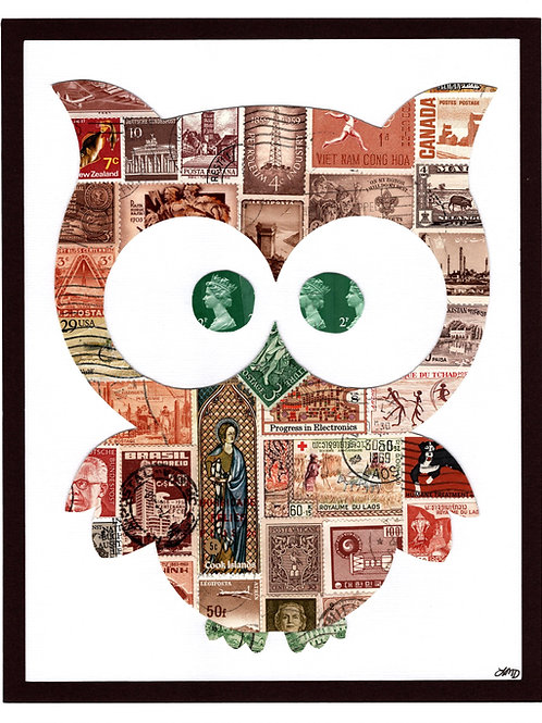 Owl 8x10